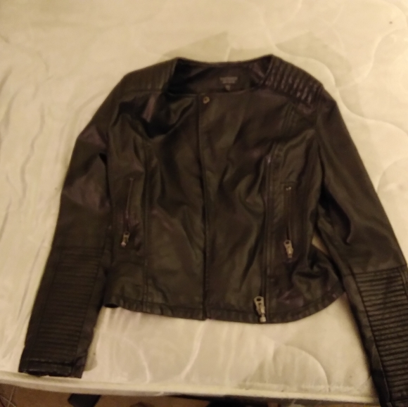 Topshop Jackets & Blazers - Topshop leather jacket